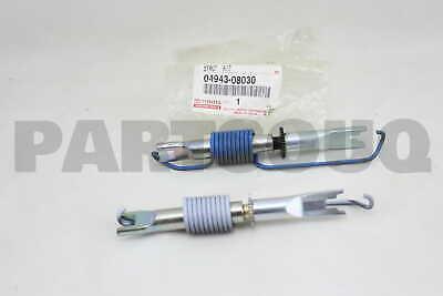 REAR BRAKE 04943-08030 0494308030 Genuine Toyota STRUT KIT