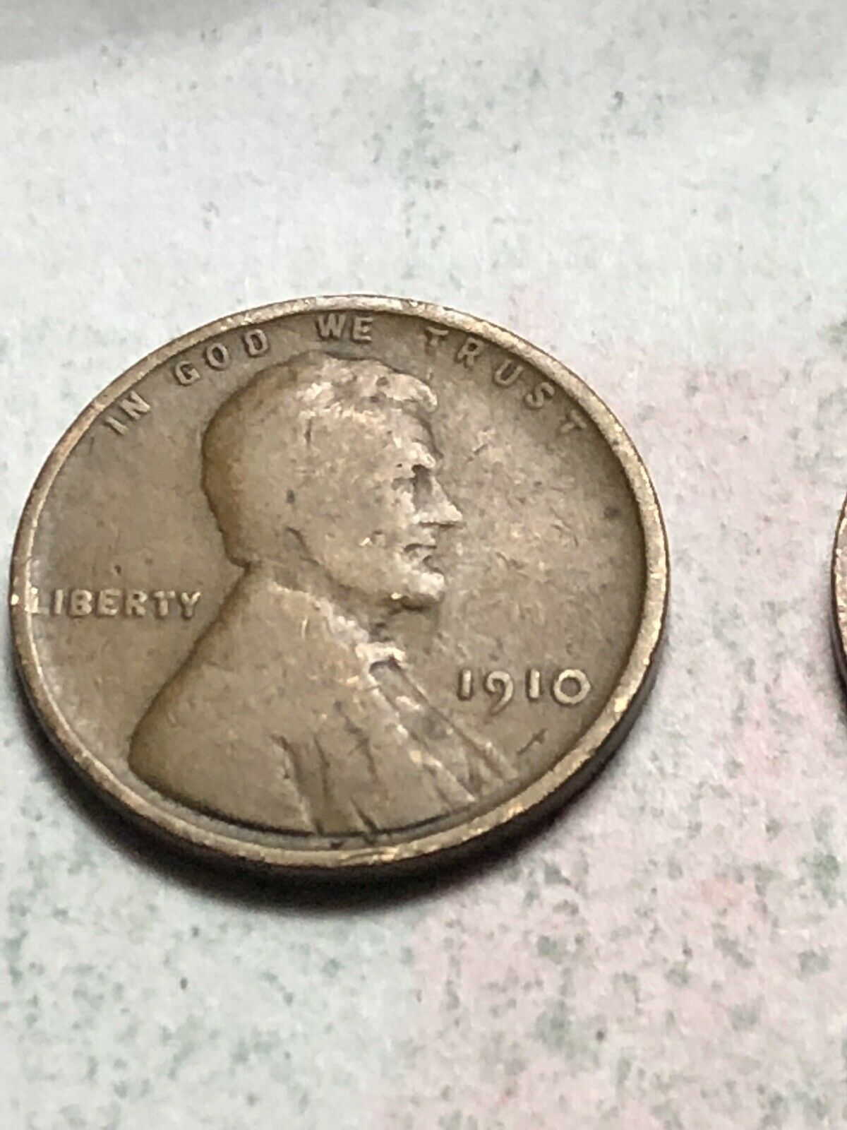 1910 P Lincoln Wheat Cent  ~ Solid Album Filler Coin ~ Lot D103