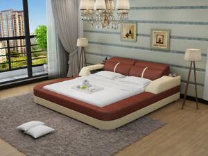 Lit D'eau Hôtel Double Lit Lits Complètement Lederbett Polsterbett Eau Lb8823-afficher Le Titre D'origine Couleurs Fantaisie
