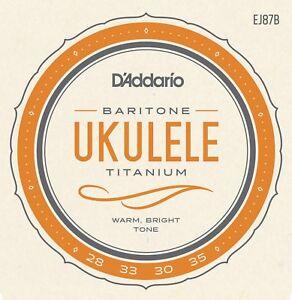 D-039-Addario-EJ87B-Titanium-Ukulele-Strings-Baritone
