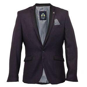 Para-Hombre-Marc-Darcy-Vintage-Tweed-Blazer-Chaqueta-Carter-Mora