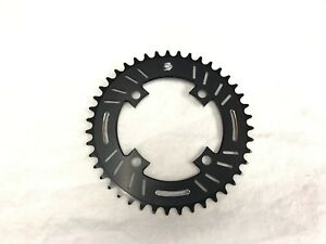 Snap-BMX-Products-S4-104mm-4-bolt-Chainring-43t-Black