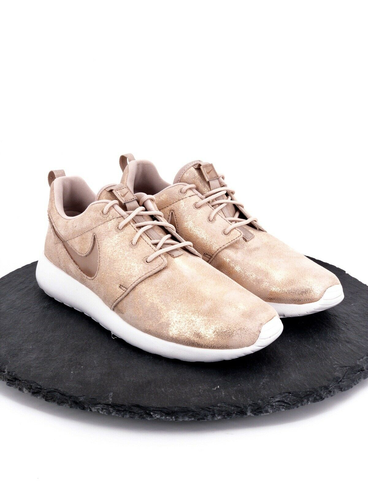 Nike Roshe Run One Premium Metallic Rose Bronze or Rose Chaussure De Course Taille 9