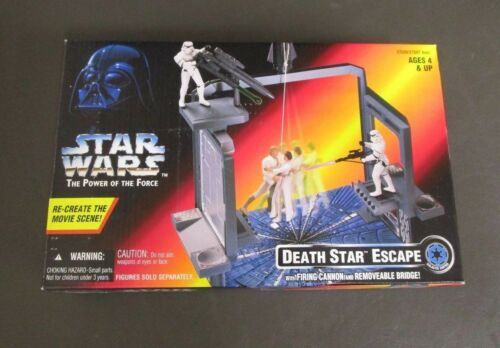 Death Star Escape Playset 1996 STAR WARS Power of the Force POTF MIB
