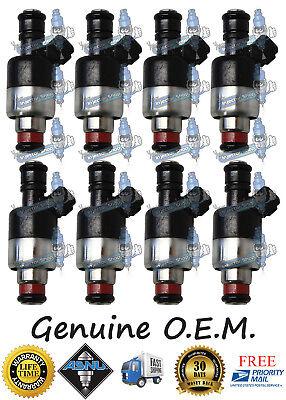 SET OF 8 MATCHED FLOW SET ROCHESTER FUEL INJECTORS 1996-2000 GM TRUCKS 7.4L