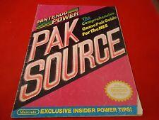OFFICIAL Nintendo Power NES Pak Source Guide Book