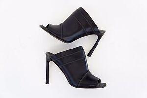 NWOB-1395-Brunello-Cucinelli-100-Leather-Monili-Stripe-Beaded-PeepToe-Mules-A176