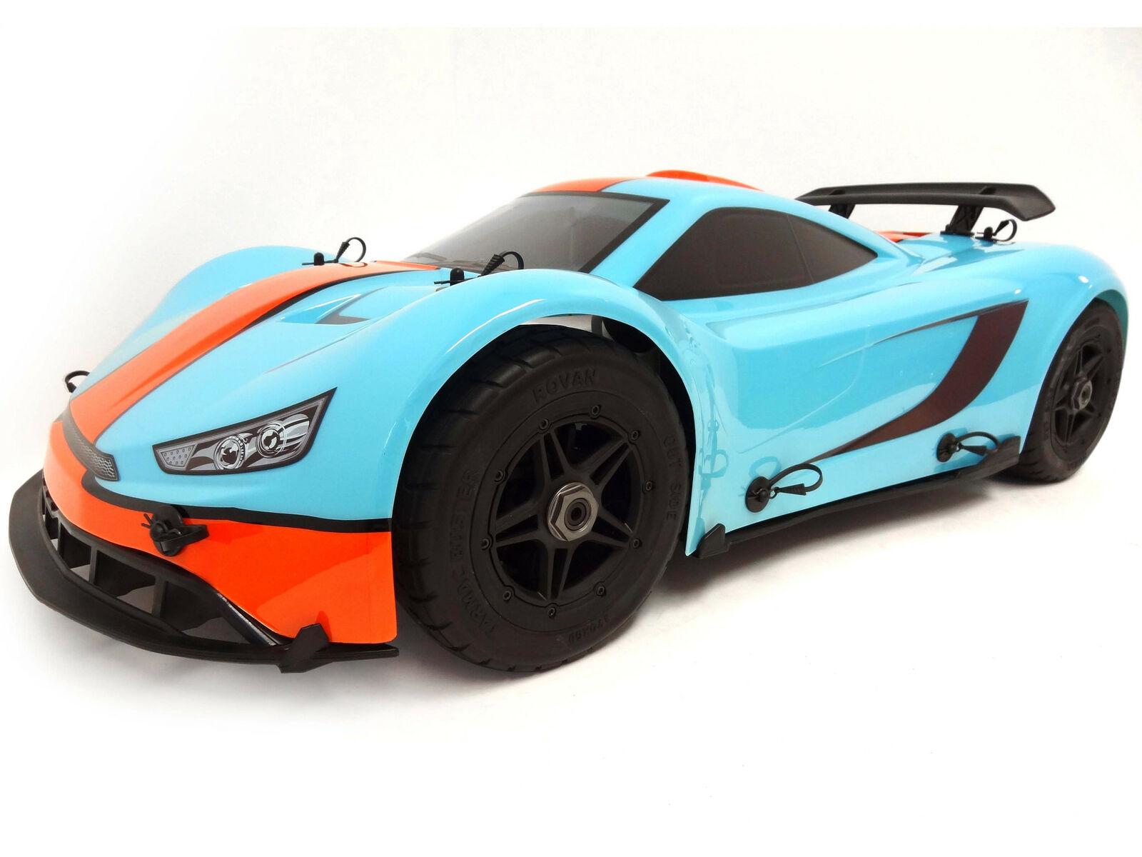 Rovan 1 5 Scale 360 F5 36cc  Gas 4WD On-strada Ready to correre Race auto MCD Compatible  più economico
