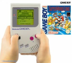 Nintendo-GameBoy-Konsole-Super-Mario-Land