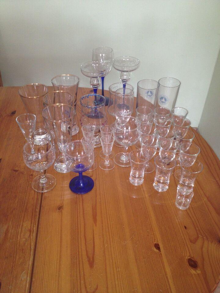 Glas, Forskellige glas