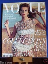 ▬►Vogue 904 /2010 Daria Werbowy_ Kate Moss crée des sacs pour Longchamp_Fashion