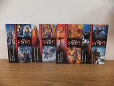 David GEMMELL Drenai Series in 4 volumes Rare Russian Books HC