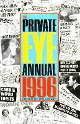 Private Eye, The Private Eye Annual 1996, Paperback, Excellent Book