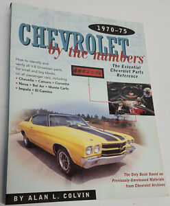 NOS-Chevrolet-by-the-numbers-1970-75-essential-part-reference-ID-amp-verify-the-s