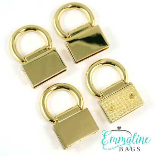 Emma Sacs Bracelet Ancre Edge Connecteurs-Gamme de finitions pour Sac Making