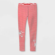 da202a5d0782f5 Girls Snowflakes Striped Christmas - Holiday Leggings Cat & Jack Size S ...
