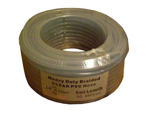 Co2 HOSE used in the welding industry 30mtr REEL 6MM I.D REINFORCED PVC ARGON