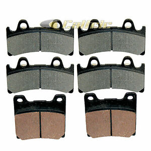 brake pads yamaha yzf750 yzf750r 1994 1996 1997 1998 front. Black Bedroom Furniture Sets. Home Design Ideas
