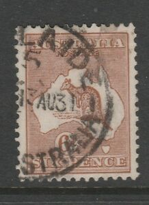 1923-6d-Roo-Sg-73-Variety-034-Missing-lines-above-value-034