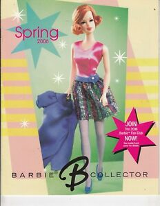 Barbie-Doll-Collector-Magazine-Catalog-Spring-2006-20-pages-British-Inv-t2