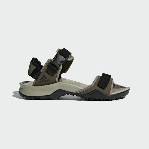 Adidas CM7525 Men Outdoor Cyprex Slippers Ultra TW Sandals green black beige