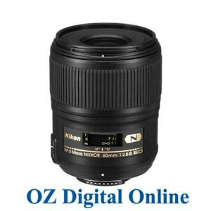 New-Nikon-AF-S-Micro-Nikkor-60mm-F2-8G-ED-Lens-for-D750-D850-1-Yr-AuWty