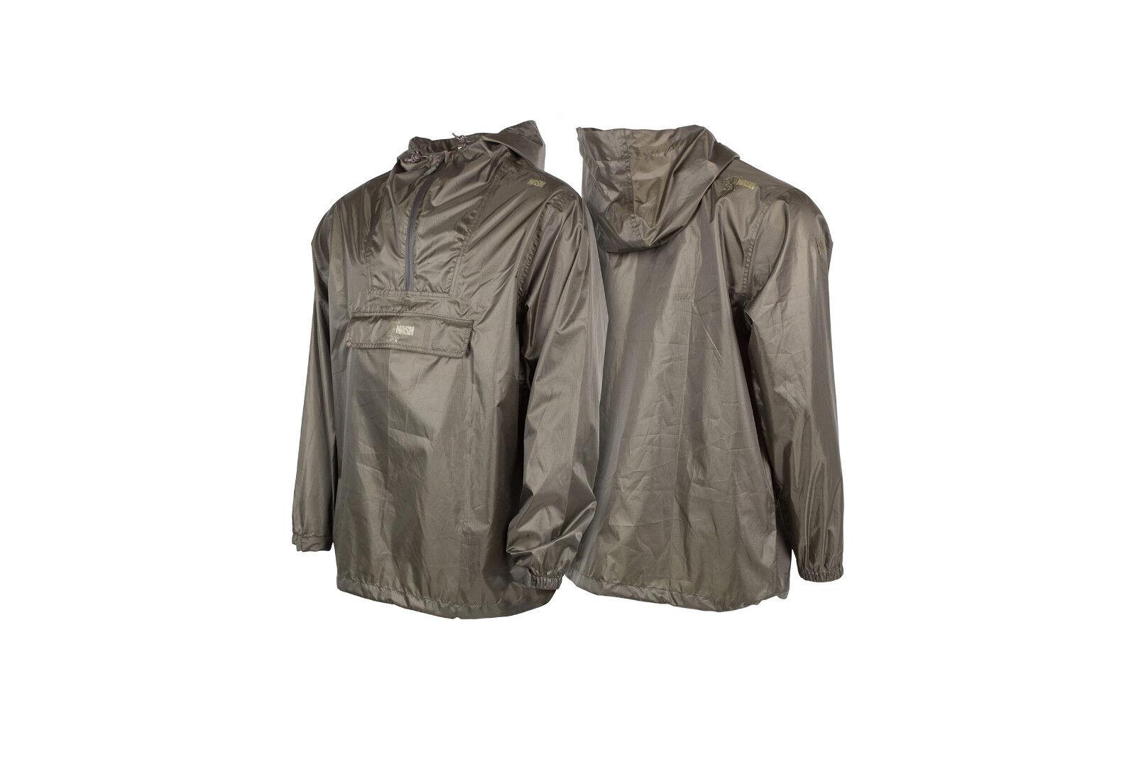 Nash Packaway Waterproof Jacket Regenjacke Jacke Rainjacket Rain Jacket