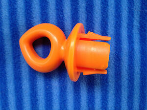 Baby Einstein Baby Neptune Ocean Walker Orange Toy Hook