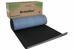 Details about 19 mm (6m2) Roll Armaflex Closed Cell Foam Insulation Self  Adhesive Car Sound