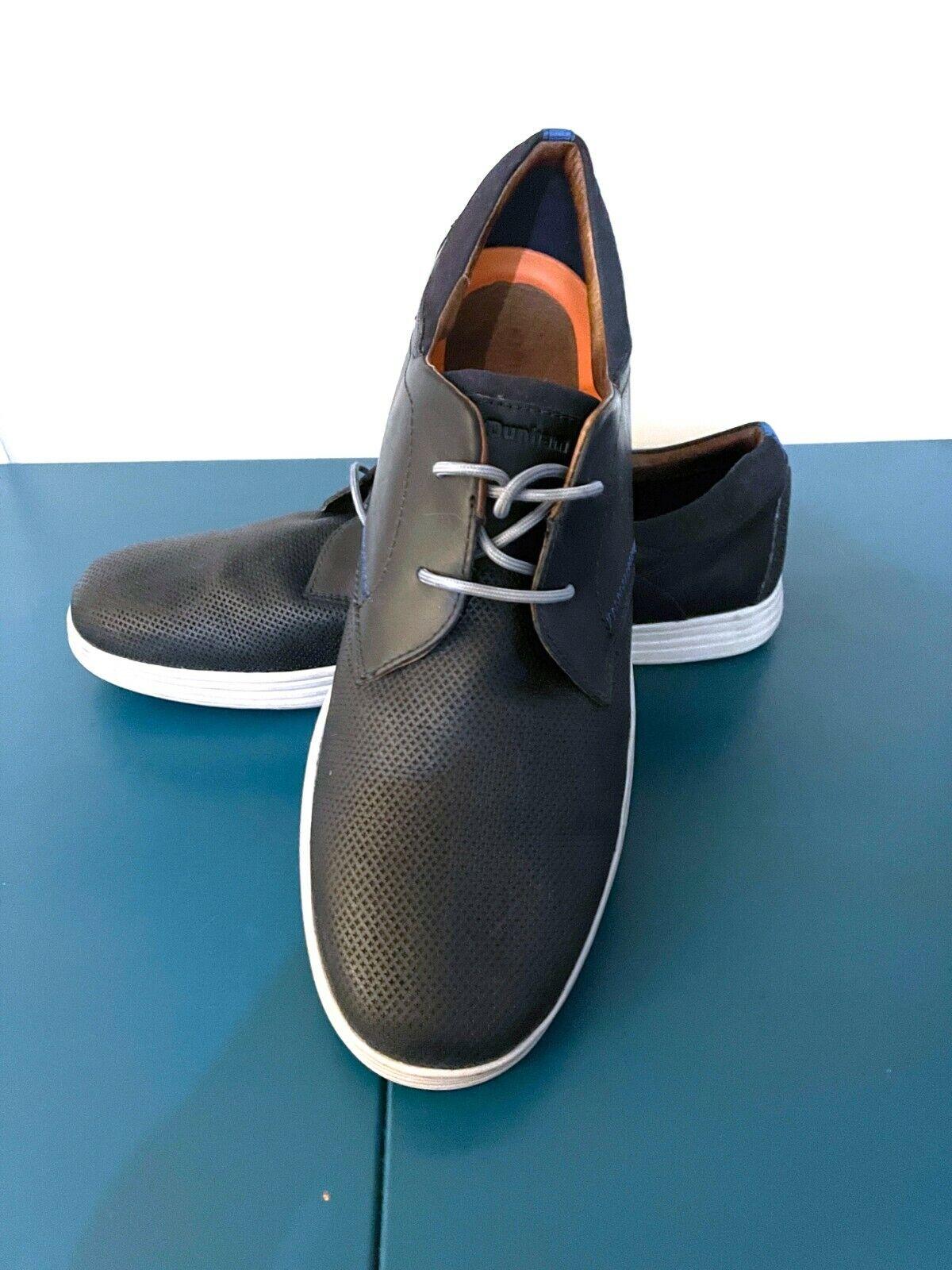 Dunham Mens Casual Shoes Leather Oxfords Colchester Navy Size 16D Model DAH14BL