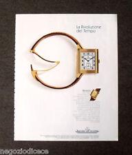 [GCG]  P510 - Advertising Pubblicità -2000- JAEGER LE COULTRE REVERSO