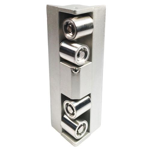 Platinum Corner Roller with 2-4 ft Extendable Wooster Sherlock GT Handle