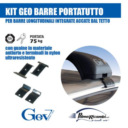 S9200+9265 GEO BARRE ARGENTO PORTATUTTO FIAT TIPO STATION WAGON