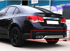Rear Diffuser Bumper Pad Two-tone [Diesel] For 2012 2013 2014 CHEVROLET CRUZE