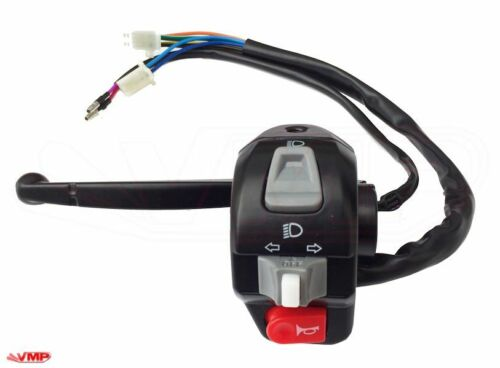 Longjia LJ125T-A Left Hand Handlebar Switch Gear Indicator Horn Light Switch