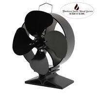 Flouriou Heat Powered Stove Ecofan Heater Combustion Stove Fireplaeco Fan