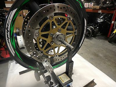 KAWASAKI ZX9R / ZX12R FRONT BRAKE ROTOR SET, STRAIGHT, GREAT CONDITION
