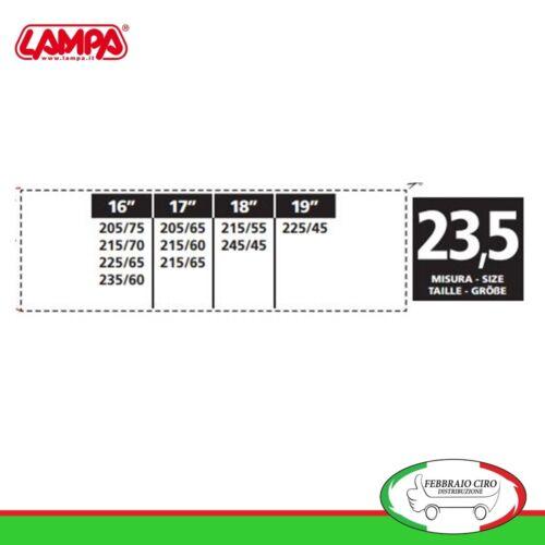 Catene da neve 215//70R16 215//70-16 12mm Suv Lampa S12 Gruppo 23,5-16465