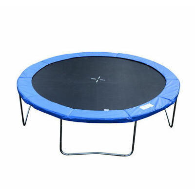 HOMCOM 12ft Trampoline Pad Surround Pad Thick Foam Replacement Spare- Blue