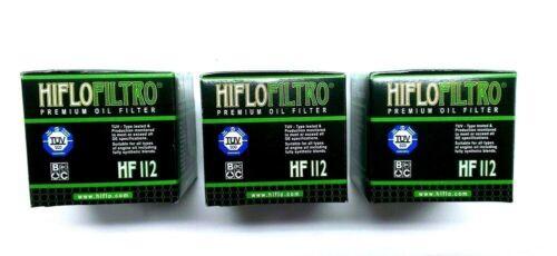 3x Filtre à huile HIFLO 112 pour Honda NX 650 Dominator xr250r Adly KAWASAKI SUZUKI