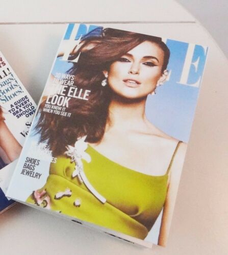 """Gene other 16/"""" dolls ELLE with Keira Knightly mini-magazine for Tonner"""