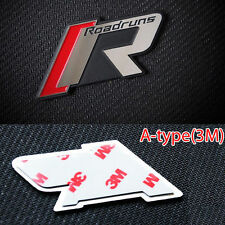 Roadruns R-Tune Emblem Aluminum Badge A-type 3M-Tape For Universal Fit