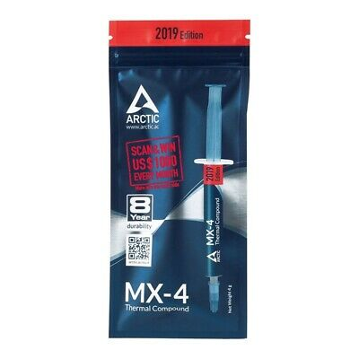 Arctic Mx 4 4g Cooling Thermal Paste Compound For Cpu Gpu Genuine 2019 Edition Ebay