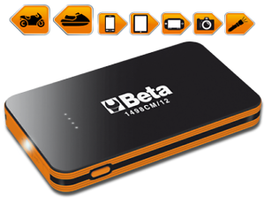 Avviatore Emergenza Portatile.Dettagli Su Beta Avviatore Starter Booster D Emergenza Portatile Beta 12volt Mod 1498cm 12