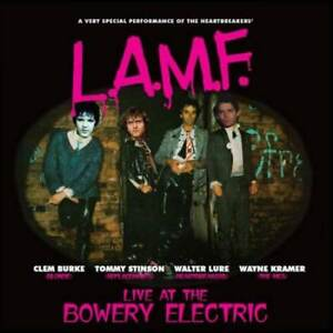CLEM-BURKE-WALTER-LURE-L-A-M-F-LIVE-BOWERY-ELECTRIC-NEW-CD