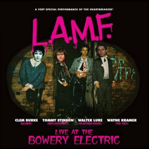 CLEM BURKE/WALTER LURE - L.A.M.F.: LIVE BOWERY ELECTRIC NEW CD