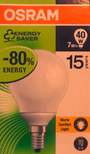 Osram Dulux Superstar Miniball Energiesparlampe 7W = 40W 2500K Warm Weiß E14