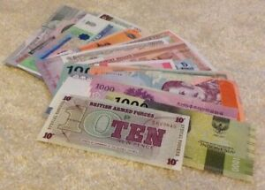 Lot-Of-50-X-Banknotes-All-Different-Set-All-Unc-Worldwide-Assortment-50-Pcs