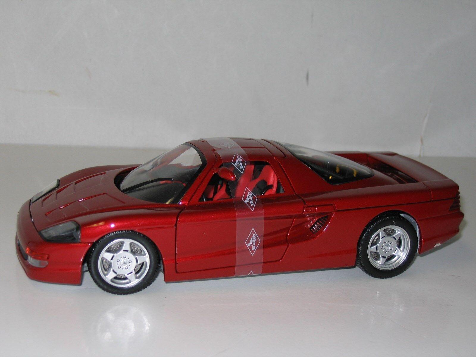 1/18 Guiloy Mercedes C-112, Rojo, Nuevo