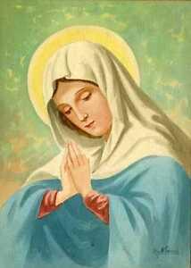 La Madonna.